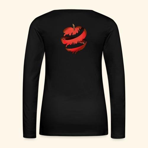 Logo designed by/conceptualisé par Francesca Pang - Women's Premium Long Sleeve T-Shirt