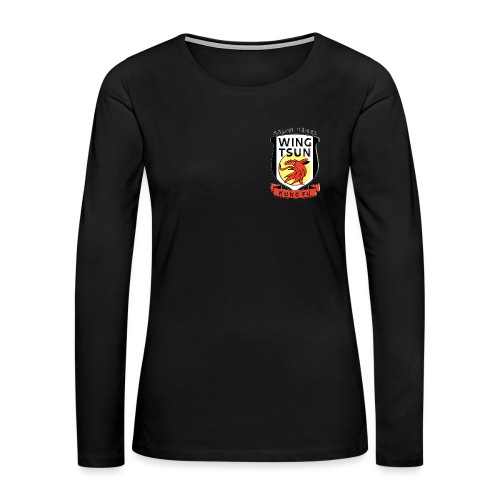 wingtsunkungfu logo - Women's Premium Long Sleeve T-Shirt