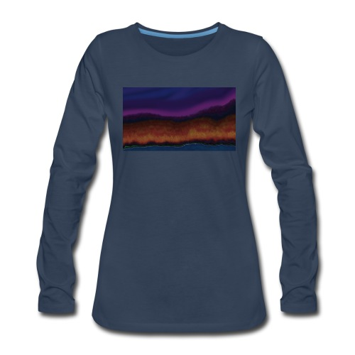Fall Scene - Women's Premium Long Sleeve T-Shirt