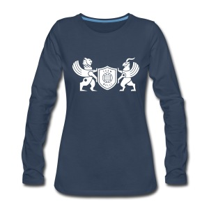 Iran lion & griffin - Women's Premium Long Sleeve T-Shirt