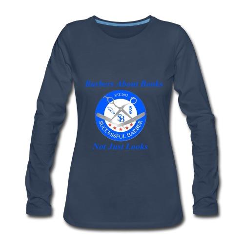 Barbershop Books - Women's Premium Long Sleeve T-Shirt