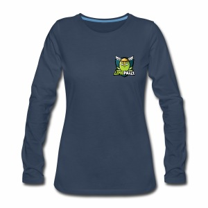 Limepally's Logo - Women's Premium Long Sleeve T-Shirt