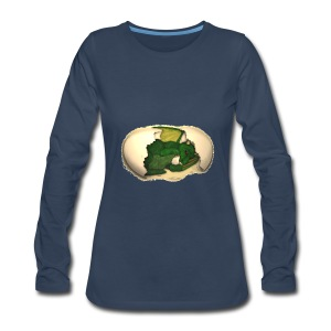 The Emerald Dragon of Nital - Women's Premium Long Sleeve T-Shirt