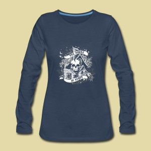 hoh_tshirt_skullhouse - Women's Premium Long Sleeve T-Shirt