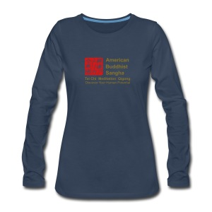 American Buddhist Sangha / Zen Do USA - Women's Premium Long Sleeve T-Shirt