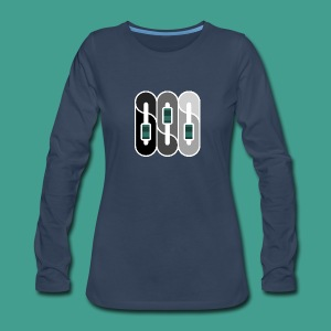 Silverman Sound Studios Logo - Women's Premium Long Sleeve T-Shirt