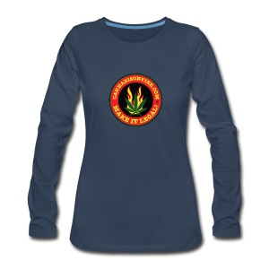 Make Cannabis Legal Cannabis Tshirts 420 wear - Women's Premium Long Sleeve T-Shirt