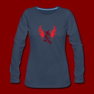 LiftCastTV Subdued - Women's Premium Long Sleeve T-Shirt