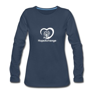 Hope Xchange Logo T-Shirts - Women's Premium Long Sleeve T-Shirt