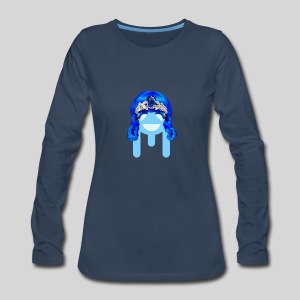 ALIENS WITH WIGS - #TeamMu - Women's Premium Long Sleeve T-Shirt