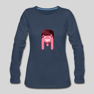ALIENS WITH WIGS - #TeamBa - Women's Premium Long Sleeve T-Shirt