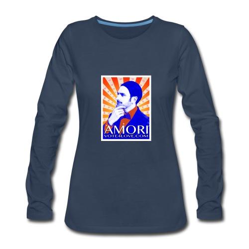 Amori_poster_1d - Women's Premium Long Sleeve T-Shirt