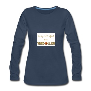Girl Basketball shirt - Women's Premium Long Sleeve T-Shirt