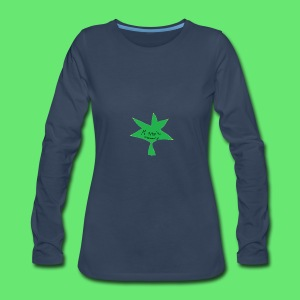 ESCLUSIVE!! 420 weed is coolio for kidlios SHIrT!1 - Women's Premium Long Sleeve T-Shirt
