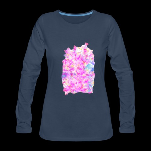 Pink pattern - Women's Premium Long Sleeve T-Shirt