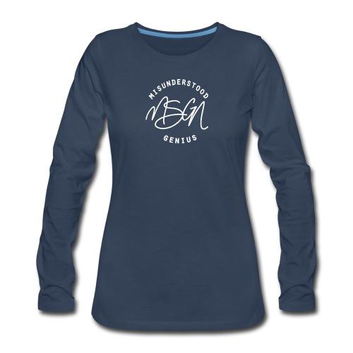 MSGN Logo - Women's Premium Long Sleeve T-Shirt