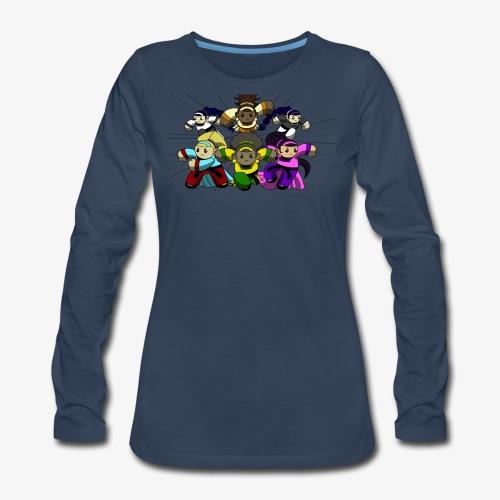 The Guardians of the Cloudgate, no logo - Women's Premium Long Sleeve T-Shirt