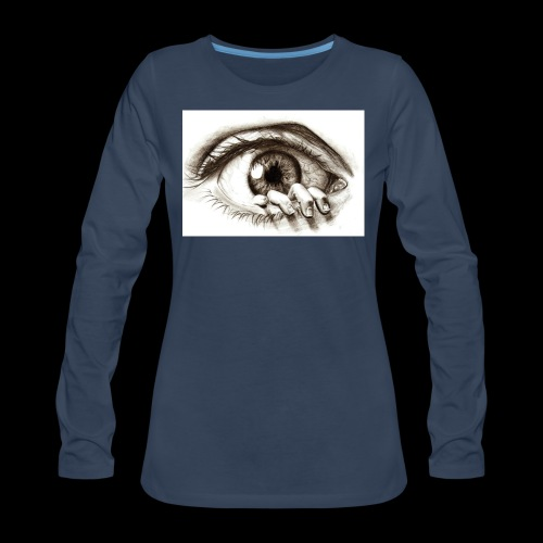 eye breaker - Women's Premium Long Sleeve T-Shirt