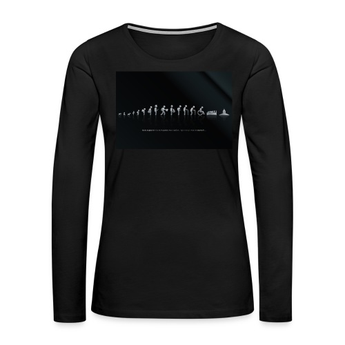 DIFFERENT STAGES OF HUMAN - Women's Premium Long Sleeve T-Shirt