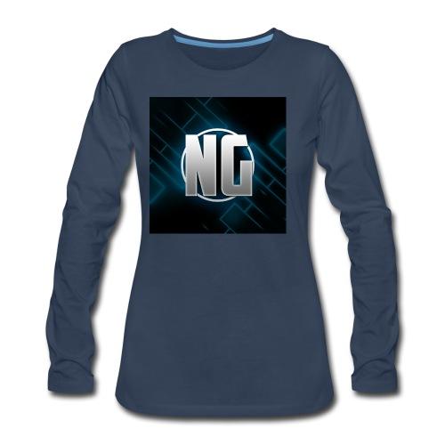NadhirGamer Merch - Women's Premium Long Sleeve T-Shirt