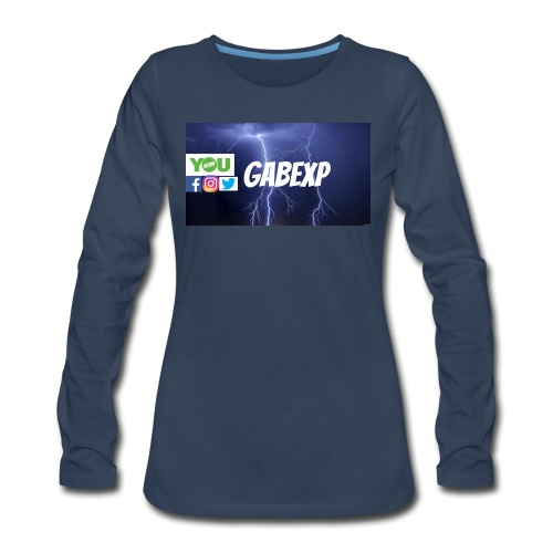 gabexp 1 - Women's Premium Long Sleeve T-Shirt