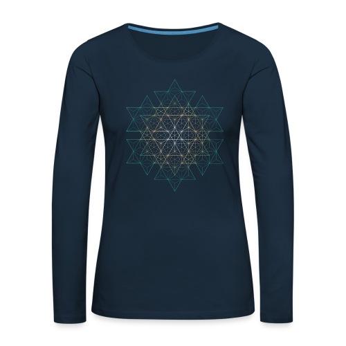 Startribe - Women's Premium Slim Fit Long Sleeve T-Shirt