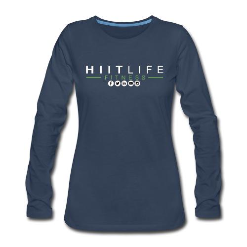 hlfsocialwht - Women's Premium Long Sleeve T-Shirt