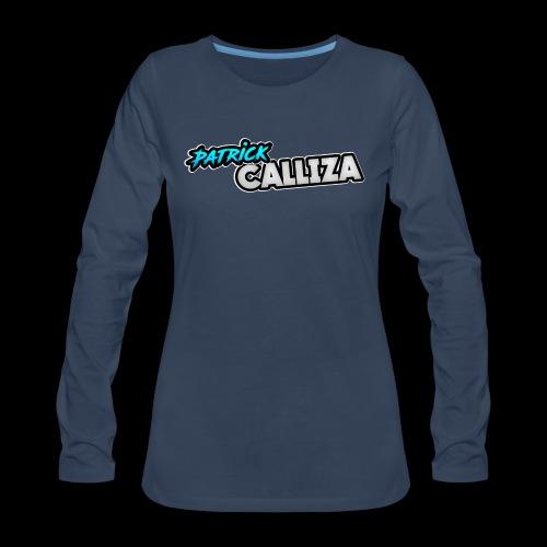 Patrick Calliza Official Logo - Women's Premium Long Sleeve T-Shirt