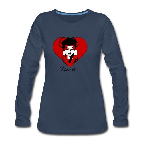 nurselife - Women's Premium Long Sleeve T-Shirt