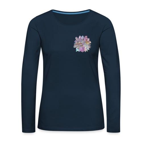CrystalMerch - Women's Premium Slim Fit Long Sleeve T-Shirt