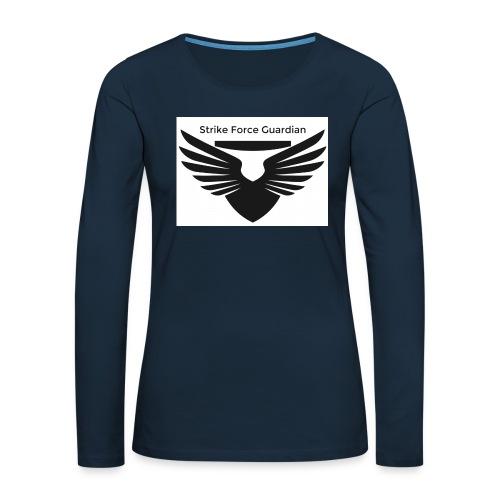 Strike force - Women's Premium Slim Fit Long Sleeve T-Shirt