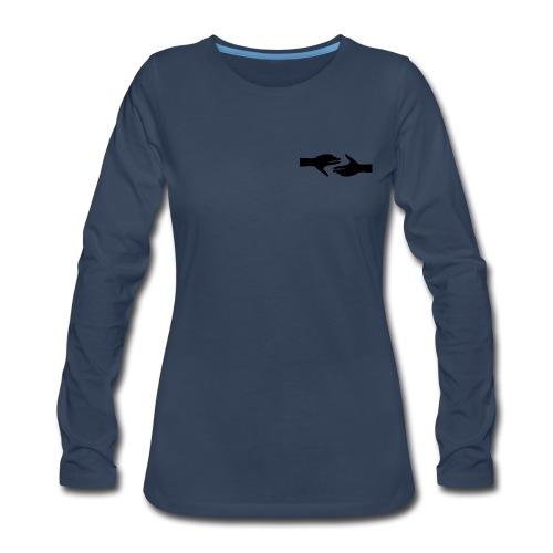 Helping Hands - Women's Premium Long Sleeve T-Shirt