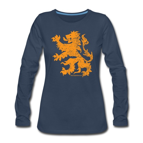 Dutch Lion - Women's Premium Long Sleeve T-Shirt