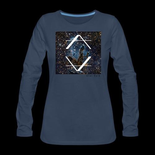 Afor Volk V2 - Women's Premium Long Sleeve T-Shirt