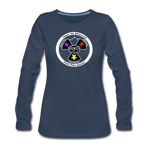 Pikes Peak Gamers Convention 2019 - Clothing - Women's Premium Slim Fit Long Sleeve T-Shirt