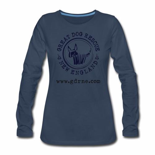 GDRNE Logo - Women's Premium Long Sleeve T-Shirt