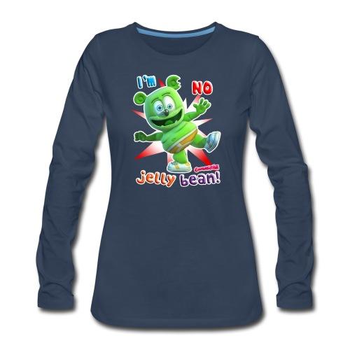 I'm No Jelly Bean - Women's Premium Long Sleeve T-Shirt