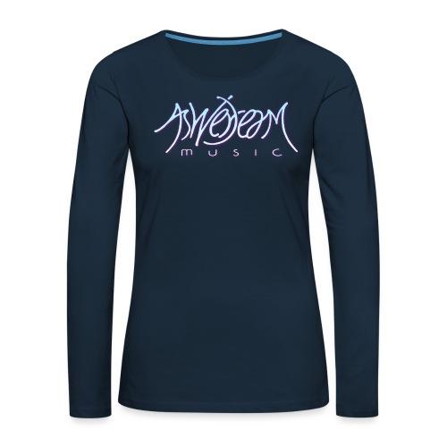 Original Logo - Women's Premium Slim Fit Long Sleeve T-Shirt