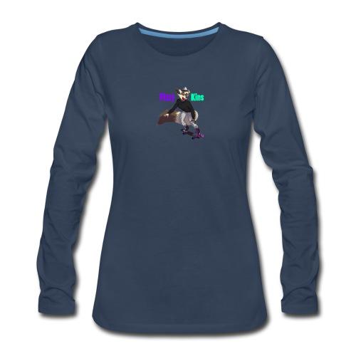 FizzyKins Design #1 - Women's Premium Long Sleeve T-Shirt