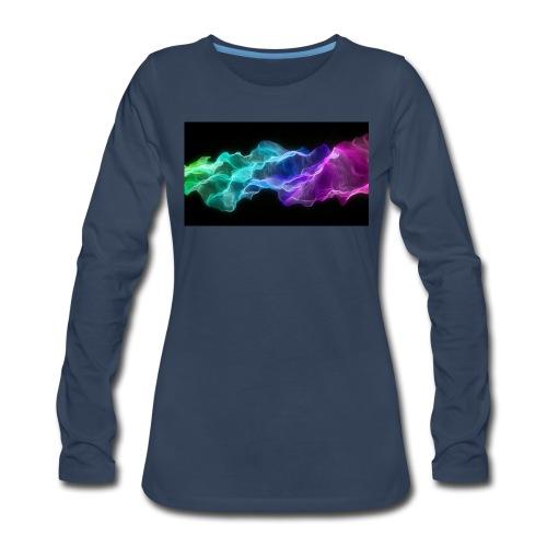 ws Curtain Colors 2560x1440 - Women's Premium Long Sleeve T-Shirt