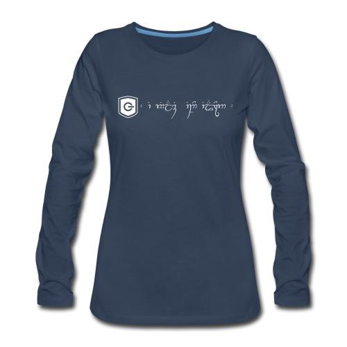 The Loving Heart of an Elf - Women's Premium Long Sleeve T-Shirt