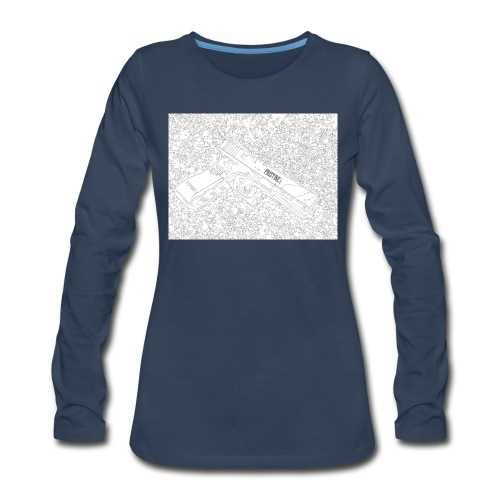 GunLines - Women's Premium Long Sleeve T-Shirt