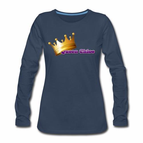Queen Chloe - Women's Premium Long Sleeve T-Shirt