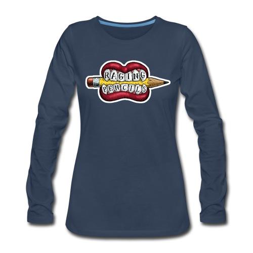 Raging Pencils Bargain Basement logo t-shirt - Women's Premium Long Sleeve T-Shirt