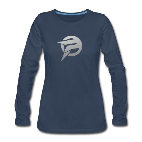 2dlogopath - Women's Premium Long Sleeve T-Shirt