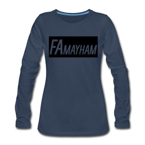 FAmayham - Women's Premium Long Sleeve T-Shirt