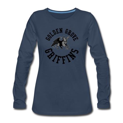 Golden Grove Griffins Color - Women's Premium Slim Fit Long Sleeve T-Shirt