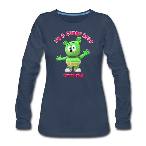 I'm A Gummy Bear - Women's Premium Long Sleeve T-Shirt