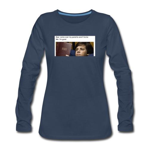 5b97e26e4ac2d049b9e8a81dd5f33651 - Women's Premium Long Sleeve T-Shirt