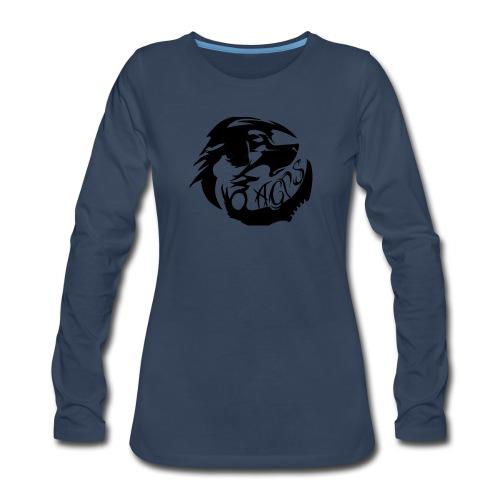 wolf - Women's Premium Long Sleeve T-Shirt